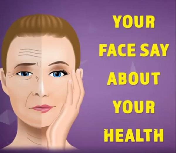 your face say about your health