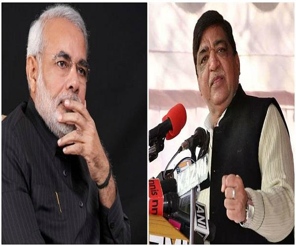 naresh agrawal disputed comment on pm modi