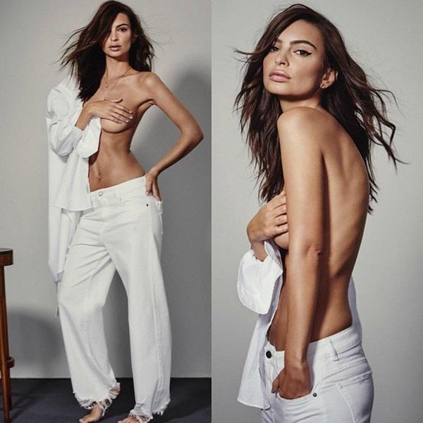 emily ratajkowski topless pictures