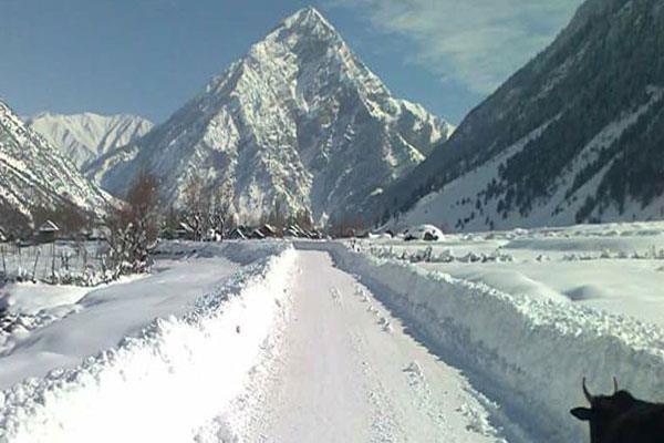 cold wave continue in ladakh