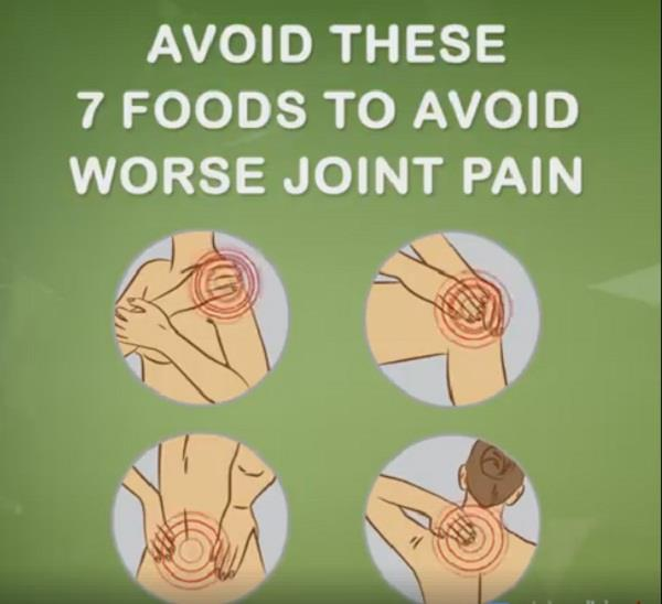 these 7 foods to avoid worse joint pain