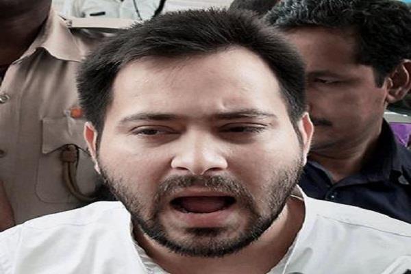 statement of tejaswi yadav