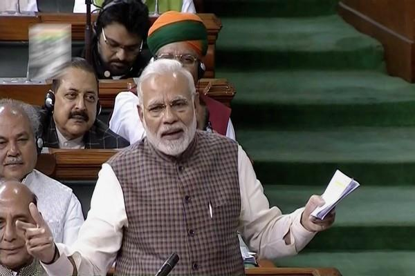 modi to reply to debate on motion of thanks to presidents address today