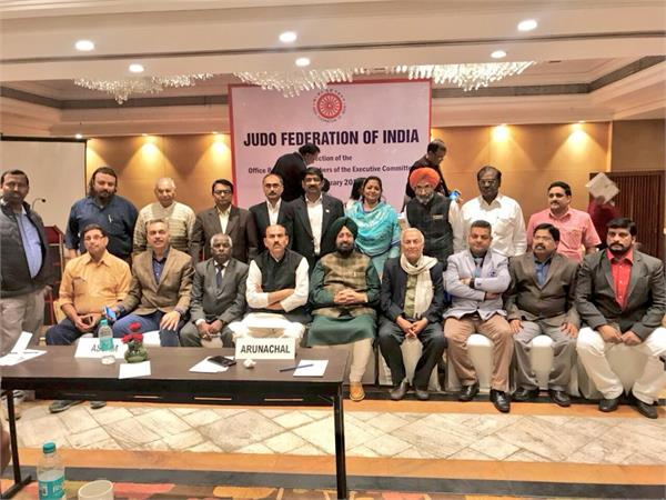 partap bajwa elected as president judo federation of india