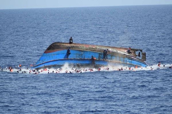 marine incident on libya coast carrying 90 migrants drowning boat