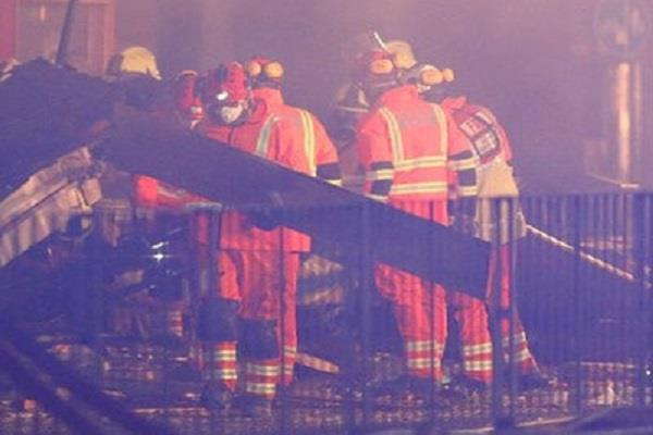 indian family of mauritius missing in a fire