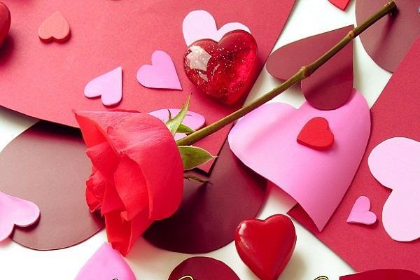 valentine day someone got flowers