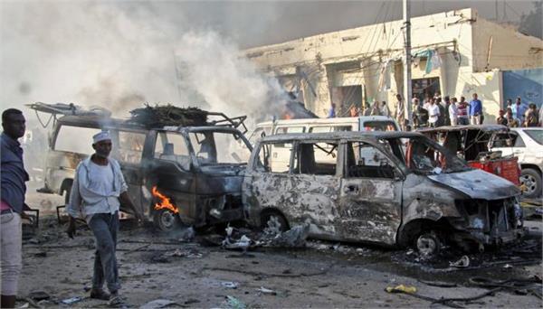 somalia blasts killed 45