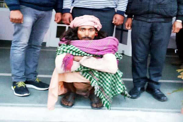 police caught po after 7 years was sitting here become as aghori baba
