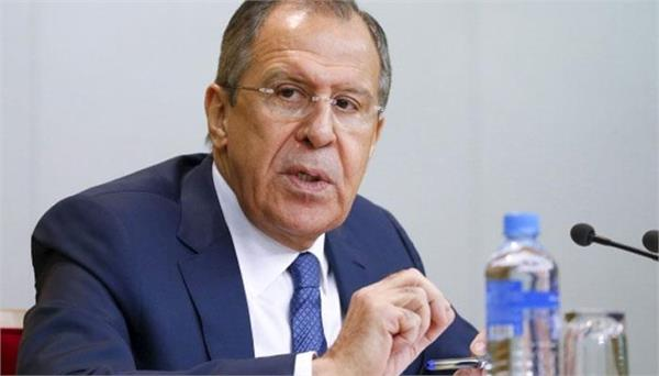 russian foreign minister aimed at america