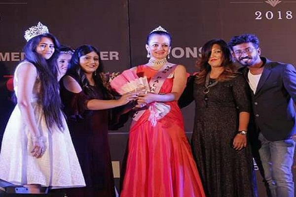 mrs palava s beauty contest win in chandigarh s smiriti