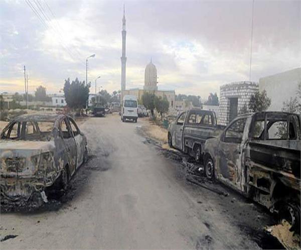 16 terrorist killed  egypt launches air strikes