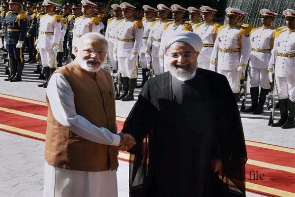 the game of balance balance will continue india will now visit iran