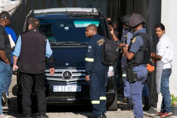 gupta family raid in south africa