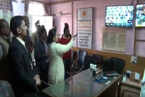 sp kurukshetra inaugurated 105 cctv in view of the safety of students