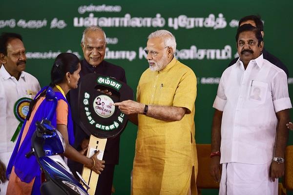 pm modi gift to tamil nadu women