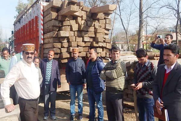 sundernagar forest minister bus station inspection