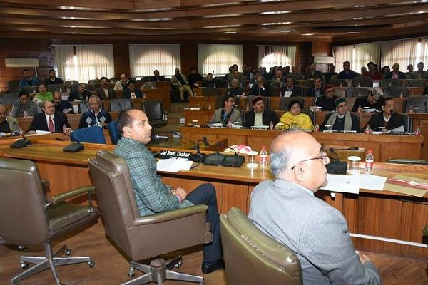 annual plan of jairam thakur govt accepted in a meeting