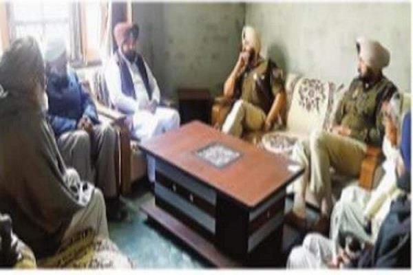 police captain told gangster father kara son sarandar