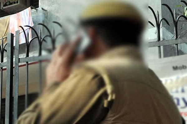 traffic police personnel found in drunk mode during duty got this punishment