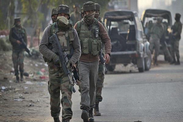 terrorist attack on crpf camp in kashmir failed