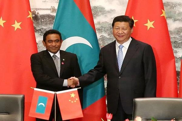 nasheed s allegations of land grab are baseless china