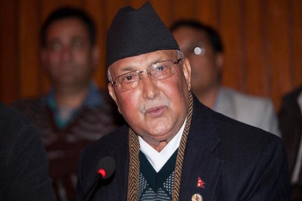 oli nepal nominated prime minister candidate