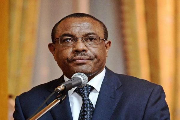 ethiopian prime minister resigns after uncontested