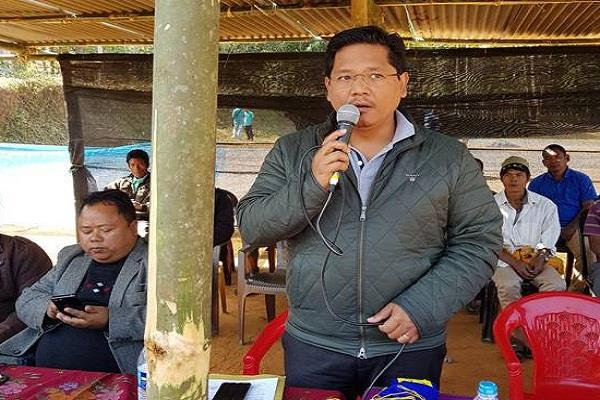 meghalaya konrad sangma to be sworn in today as chief minister