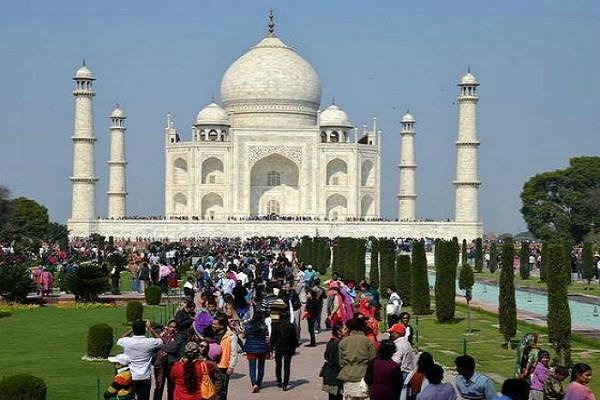 now only 3 hours will be able to visit taj mahal
