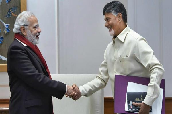 modi called chandrababu naidu and stopped leave the nda