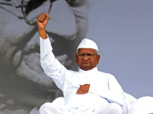 anna hazare on hunger strike from today