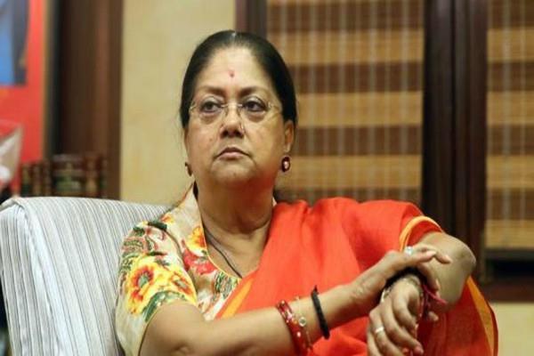 bjp abandons plans to remove vasundhara raje