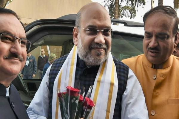 amit shah re active in up and jharkhand