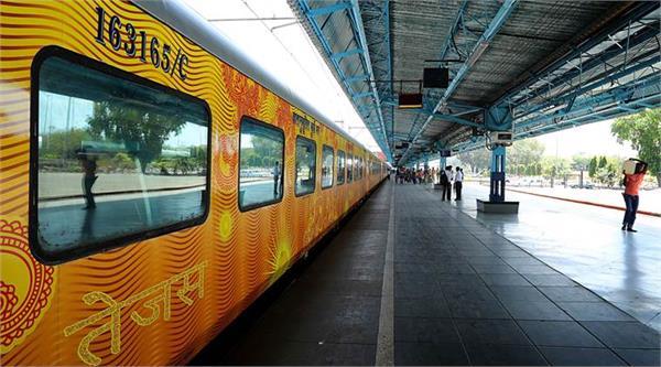 tejas express will soon run on chandigarh delhi rail section
