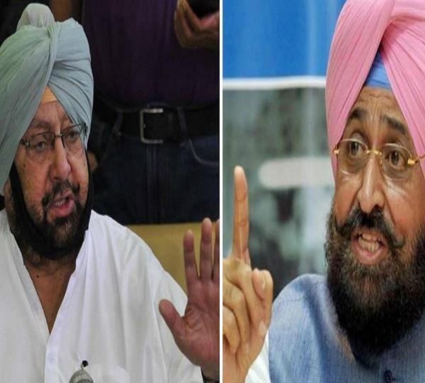 captain amarinder singh speaks against bajwa