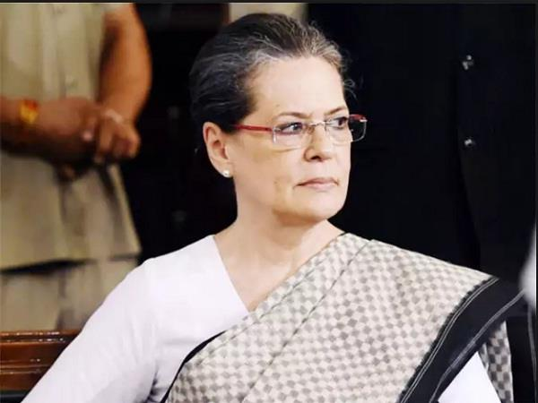 sonia gandhi s health deteriorated she returned from chandigarh to delhi