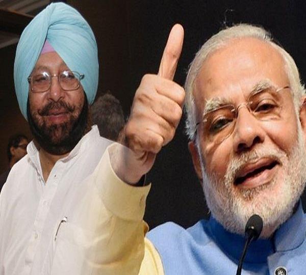 punjab congress takes on pm modi on his taunt to cm amarinder singh