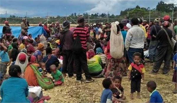 papua new guinea a second earthquake 18 killed many missing in