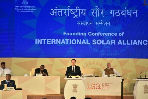 first international solar summit today