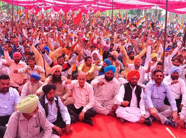 protest against punjab government