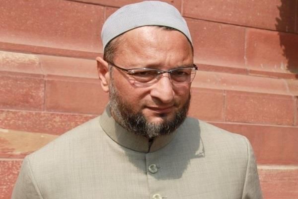 owaisi says bjp and congress to end in telangana