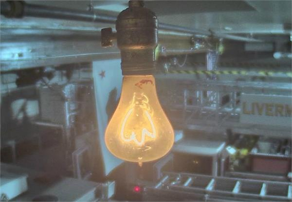 the bulb burning continuously for 117 years