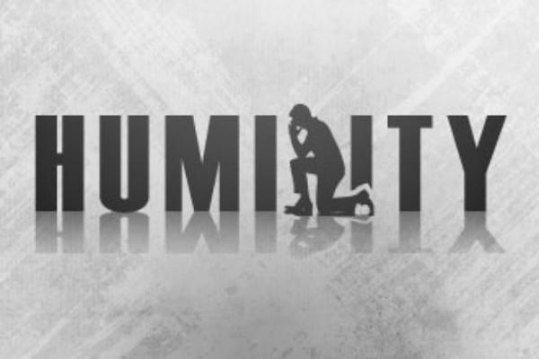 humility of a person reflects his nobility