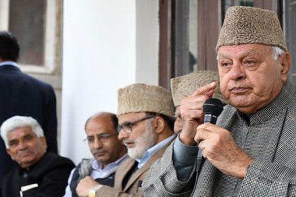 firing of darbu is a right decision said farooq