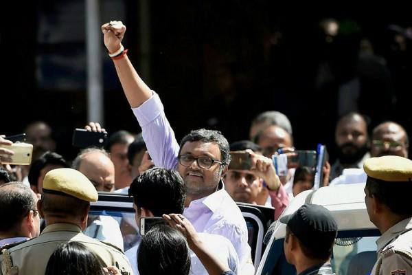 inx media case judge of delhi hc has taken separately the case of karti