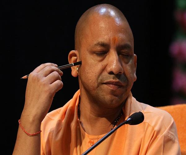 shri yogi adityanath who came to the floor on the floor