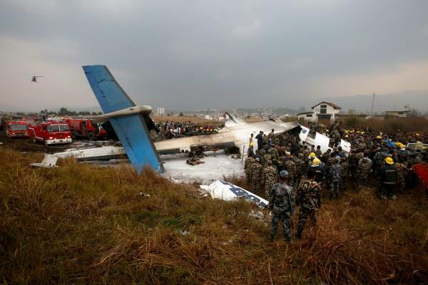 kathmandu plane accident 50 people killed in a little mistake