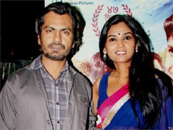 actor nawazuddin s wife alia siddiqui reaches court recorded statement