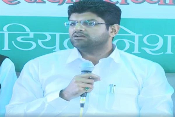 dushyant chautala health department scam